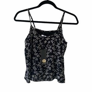 Qed London Floral Tank Top-NWT